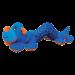 Jouet peluche Kong Shakers Caterpillar