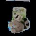 jouet peluche raton pour chien
