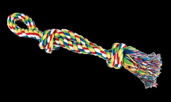jouet corde à mâcher 76 cm pour grand chien