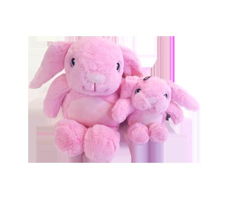 jouet Hugs Rabbit lapin peluche pour chien