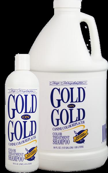 shampoing poils beige, doré ou marron Chris Christensen Gold On Gold