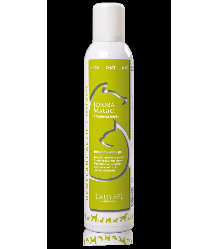 conditionneur hydratant de coiffage jojoba magic ladybel 500ml