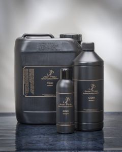 shampoing professionnel brillance jean peau pour chien 1 litre