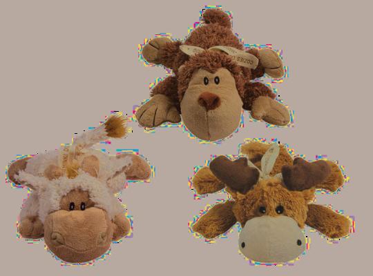 jouet peluche pour chien Cozies Naturel Kong 15 cm