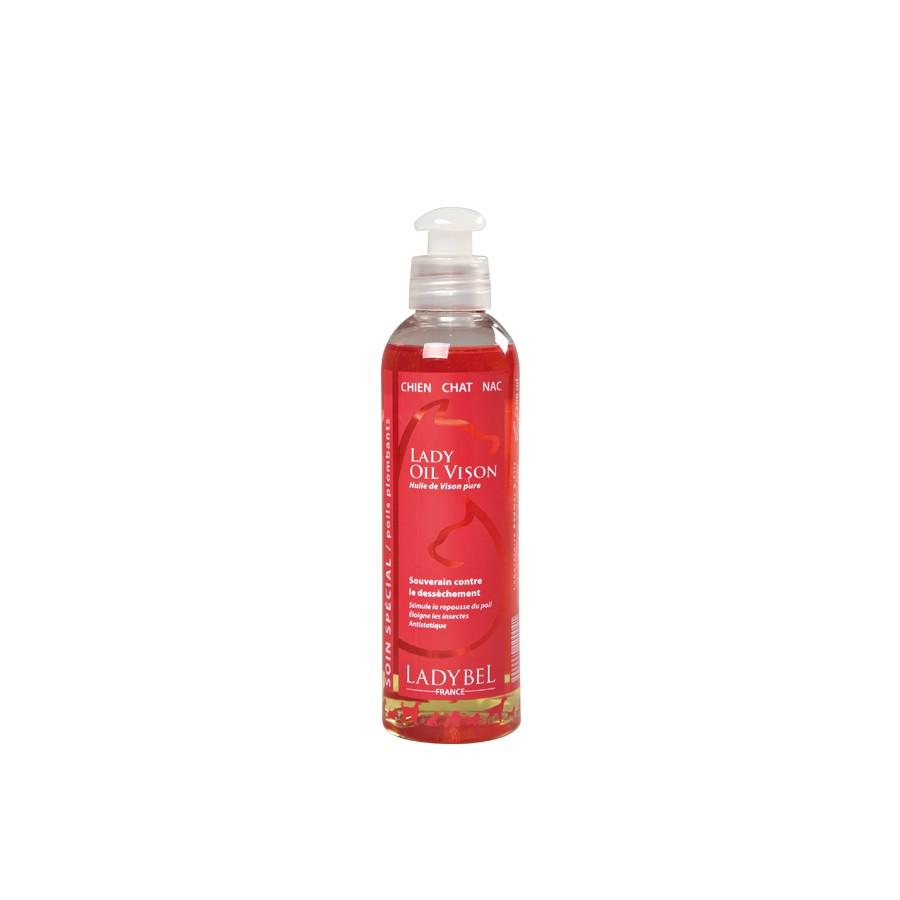 huile 100% vison hyper hydratante  avant shampoing ou papillottes ladyvison 200ml