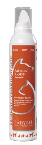 mousse de coiffage brushing Mouss'coiff Ladybel 300 ml
