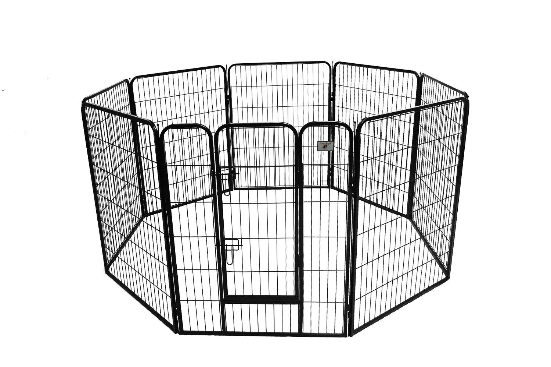 parc métal 8 panneaux ECONO pour chiot ou chien