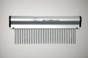 peigne resco comb 83 medium 16 cm pour chien