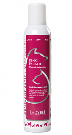 conditionneur lustrant volumisant pour expo ring parade ladybel 500ml