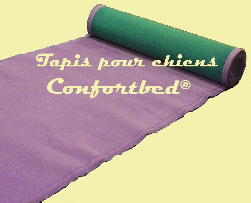 tapis confortbed vetbed éleveur mauve uni 26 mm à la coupe