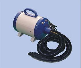 pulseur séchoir bleu semi-professionnel variateur vitesse 1200 W pour toilettage