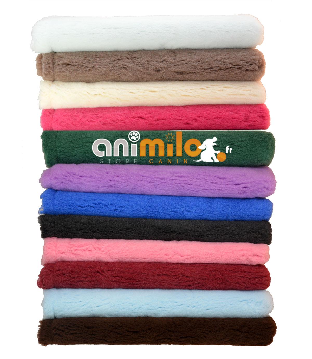 tapis drainant confortbed vetbed éleveur bordeaux uni 32 mm 50x75 cm