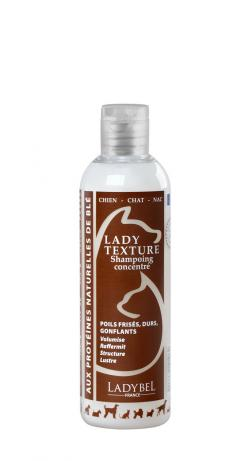 shampoing structurant volumisant chien chat lady texture 1 litre