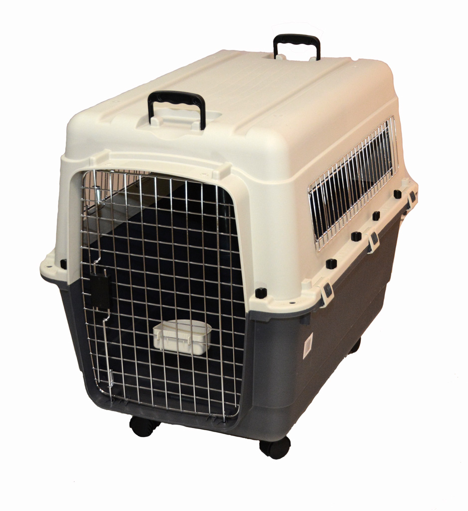 cage plastique travelaire premium iata t6 pour grand chien. Black Bedroom Furniture Sets. Home Design Ideas