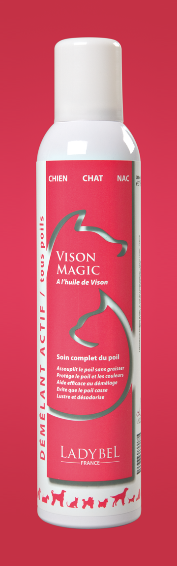 conditionneur hydratant Vison Magic Ladybel 500ml