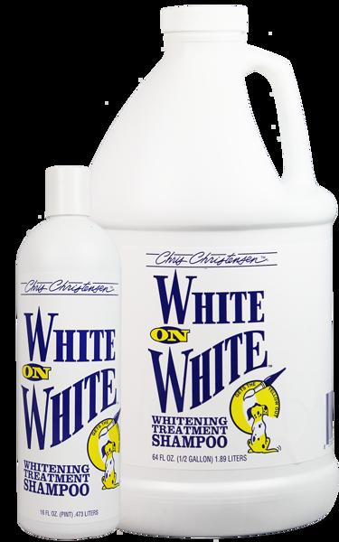 shampoing poils blancs Chris Christensen White On White